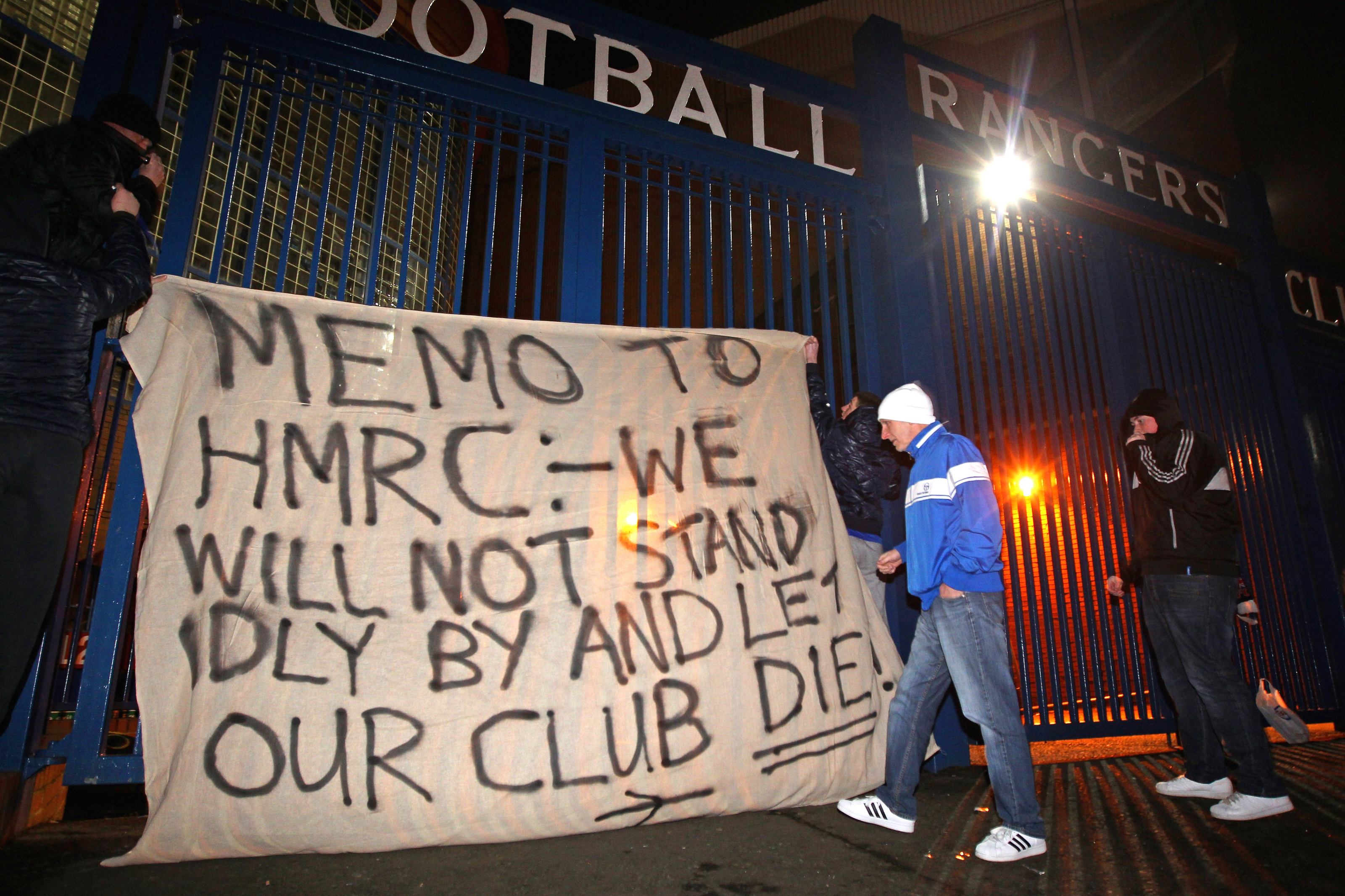 Rangers sink to new low by releasing shameful statement